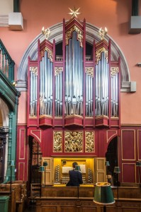 New Organ view from South Choir