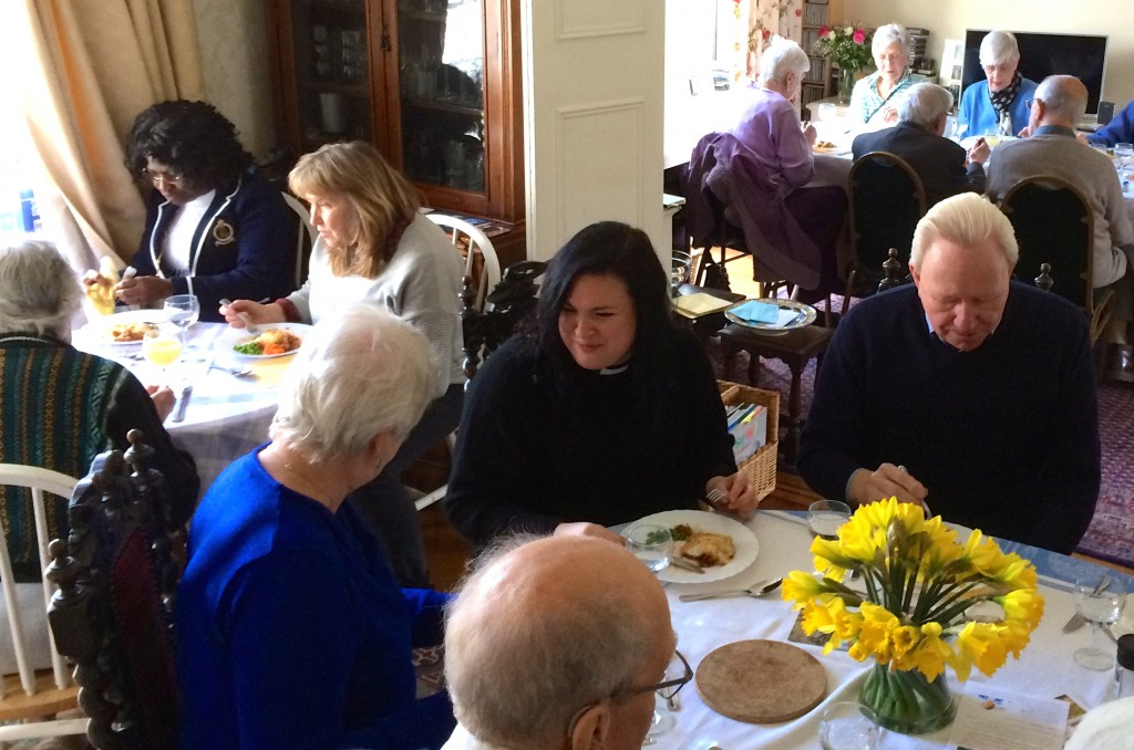 People at Lent Lunch in Ramillies Road - 22.3.15