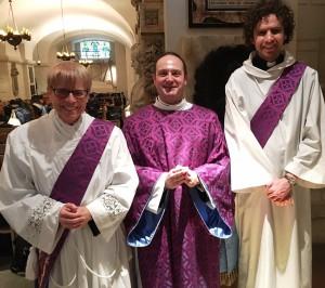 Mother Sarah - Chrism mass SW, SL and JM